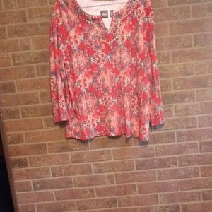 Rafaella womans top sz XL